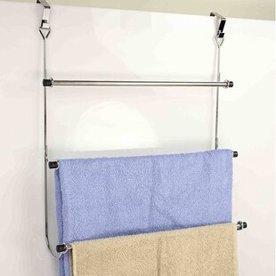 Sweet Home Collection 3 Tier Over-the-Door Towel Rack