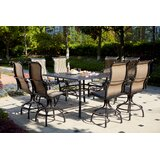 Milliron 9 Piece Bar Height Dining Set