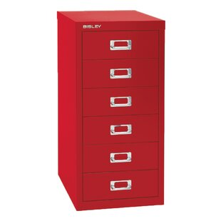 6-Drawer Vertical File by Bisley