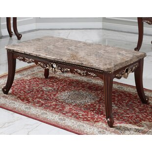 Rozlynn Coffee Table with Tray Top