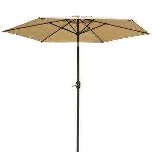 Milligan Hexagonal Outdoor Garden Patio Market Umbrella