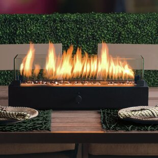 Superbe Lara Steel Propane Tabletop Fireplace
