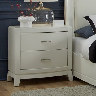 Darby Home Co Loveryk 2 Drawer Nightstand
