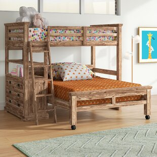 Read Reviews Elise Twin over Full L-Shaped Bunk Bed with 4 Drawer Chest and Lower Bed by Grovelane Teen Reviews (2019) & Buyer's Guide