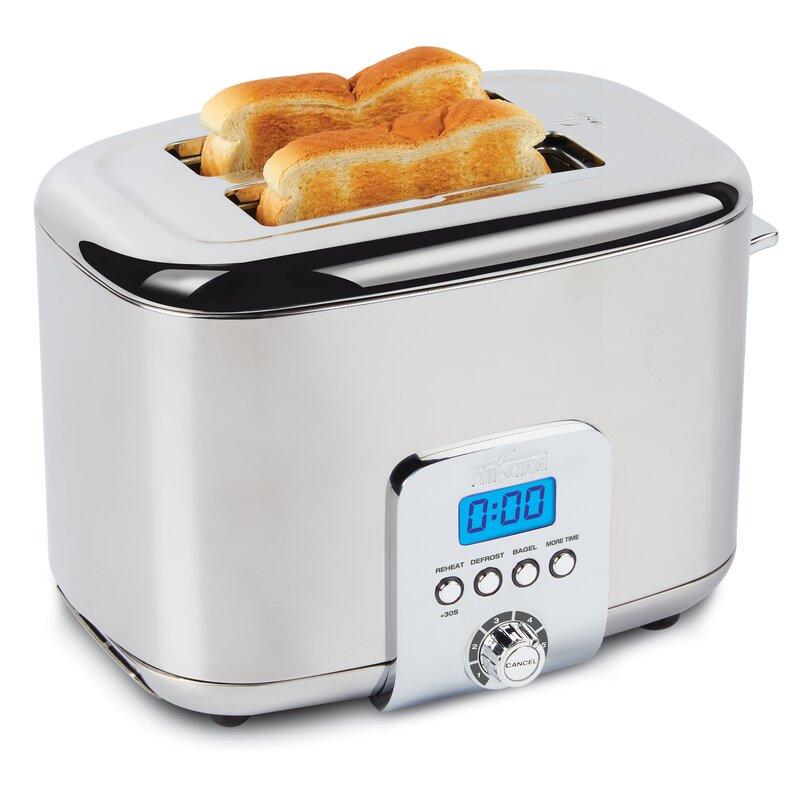 All-Clad 2 Slice Digital Stainless Steel Toaster