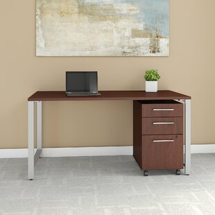 Bush Business Furniture 400 Series 2 Piece Desk Office Suite