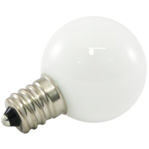 frosted led light bulb set of 25