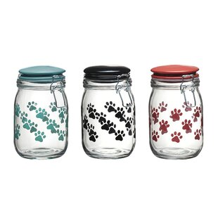 Paw 1.12 qt. Pet Treat Jar