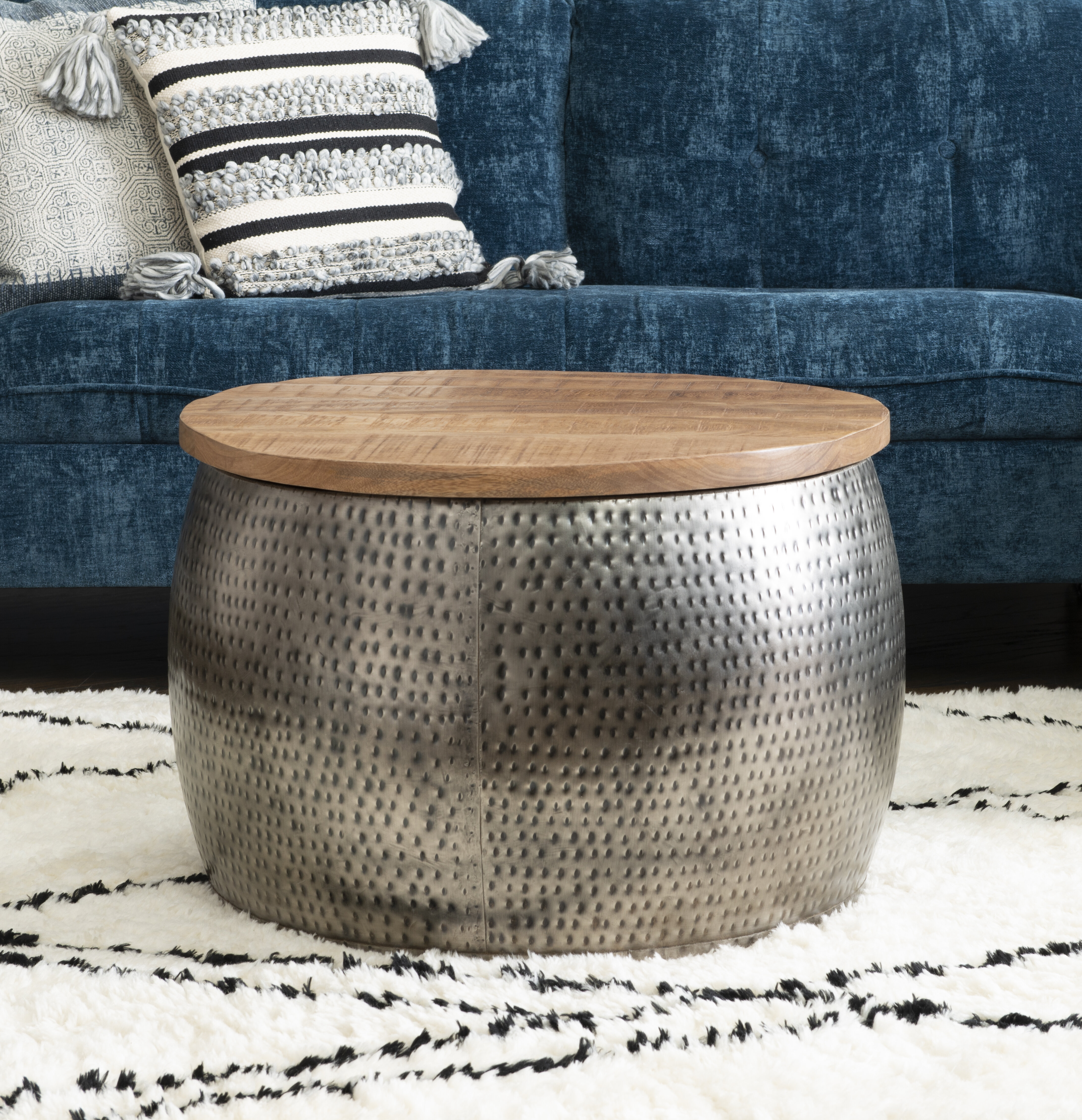 Round Coffee Tables With Storage Free Shipping Over 35 Wayfair