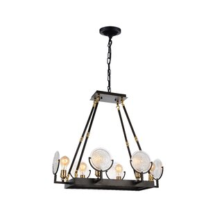 CWI Lighting Bhima 6-Light LED Kitchen Island Pendant