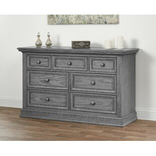 Harriet Bee Mitzi 7 Drawer Dresser