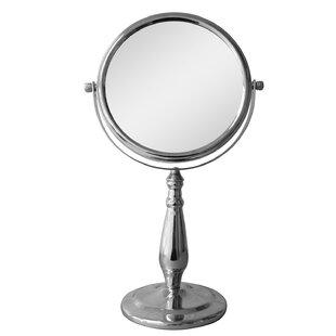 Elegant Home Fashions Freestanding Magnifying Makeup Mirror