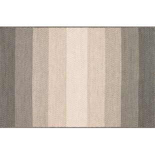 Barta Hand-Braided Neutral Indoor/Outdoor Area Rug
