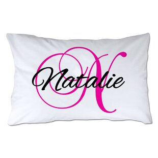 Personalized Script Name & Initial Pillowcase