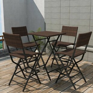 Aliette 4 Seater Rattan Dining Set By Sol 72 Outdoor