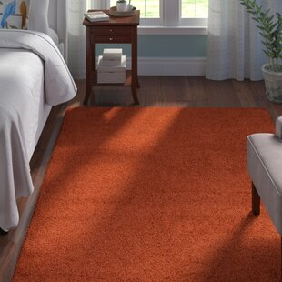 Affordable Rabinowitz Terracotta Area Rug By Andover Mills