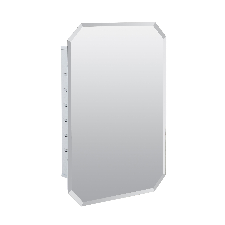 Willa Arlo Interiors Westling Recessed Frameless Medicine Cabinet With 3 Adjustable Shelves Reviews Wayfair