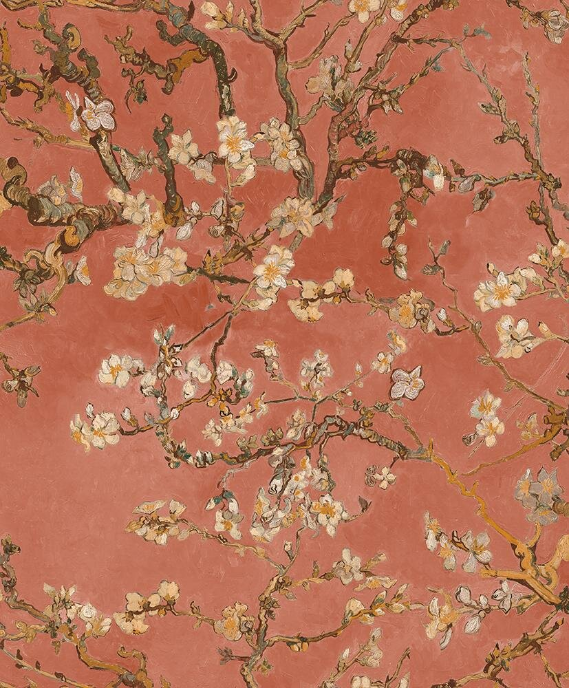 Van Gogh Blossoming Almond Trees 33 X 20 8 Floral And Botanical