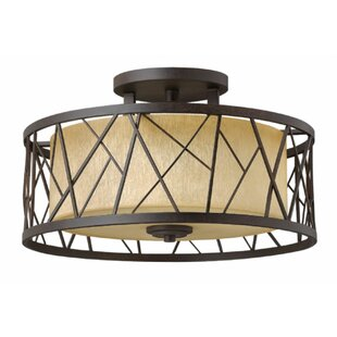 Hinkley Lighting Rehberg 3-Light Semi Flush Mount
