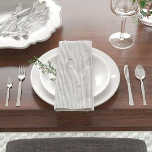 Fulvia 20 Piece Stainless Steel Flatware Set, Service for 4