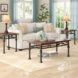 Stephen 3 Piece Coffee Table Set