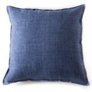 Montauk Linen Euro Pillow