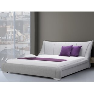 Nantes European Kingsize Upholstered Bed Frame By Wade Logan