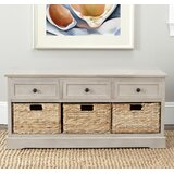 Admirable Coastal Entryway Benches Birch Lane Gmtry Best Dining Table And Chair Ideas Images Gmtryco