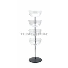Tensabarrier Impulse Tower 49 Four Shelf Shelving Unit by Tensator