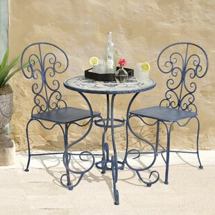 Bombay Outdoors Toulouse 3 Piece Bistro Set