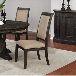 Egan Upholstered Dining Chair (Set of 2) Alcott Hill