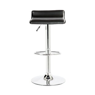 Castille Adjustable Height Swivel Bar Stool (Set of 2)