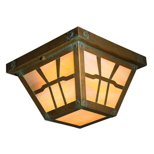 Loon Peak Angelos 2-Light Flush Mount