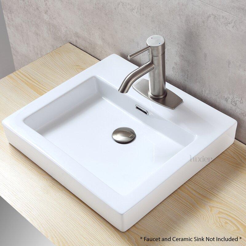Luxier Bathroom Vessel Vanity Sink Faucet 4\