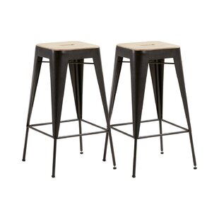 Burchette Bar Stool (Set Of 2) By Williston Forge
