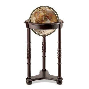 world globe on stand. Bronze Metallic World Globe On Stand I