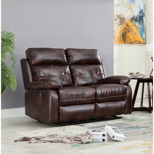 Winston Porter Swaney Reclining Loveseat