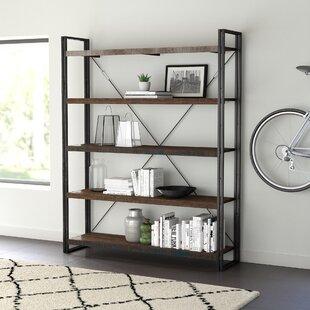 200cm Bookcase By Williston Forge