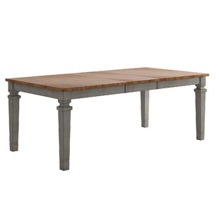 Shop for Bridlington Extendable Solid Wood Dining Table ByThree Posts