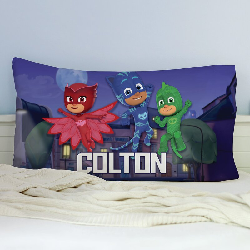 PJ Masks Character Pillow /& Throw