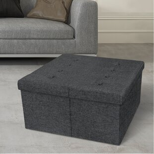 Azu Square Tufted Storage Ottoman