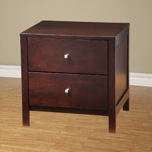 Framlingham 2 Drawer Nightstand by Three Posts