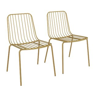 Bourquin Wire Dining Chair Set of 2