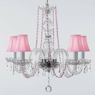 House of Hampton Katsikis 5-Light Shaded Chandelier