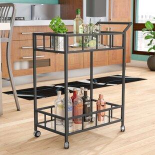 Ebern Designs Beeler Bar Cart
