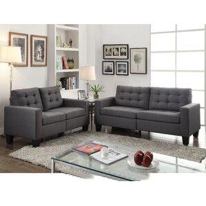 Latitude Run Yunpeng Configurable Living Room Set