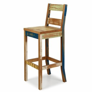Grove City Reclaimed 28.7 Bar Stool Rosecliff Heights