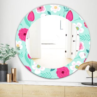 Blossom 15 Modern  Contemporary Wall Mirror
