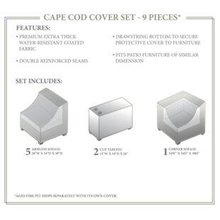 TK Classics Cape Cod Winter 8 Piece Cover..