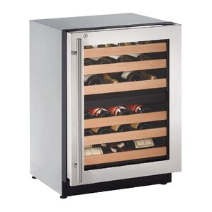43 Bottle 2000 Series Dual Zone Built-in Wine Cellar by U-Line